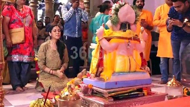 Sakshi Tanwar to take blessings of Ganpati Visit Andheri Cha Raja