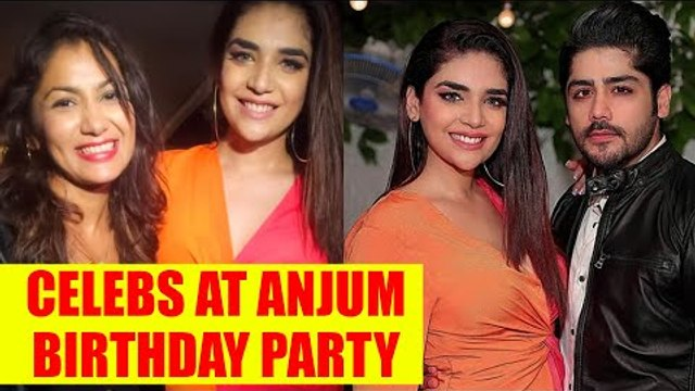 Kumkum Bhagya and Kundali Bhagya's cast join Anjum Fakih's birthday party