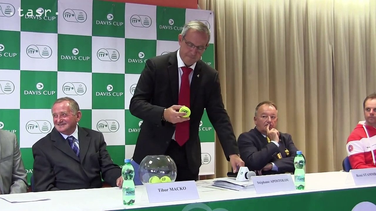 Tenis-DC: Zápas Slovensko - Švajčiarsko otvoria Kližan s Ehratom