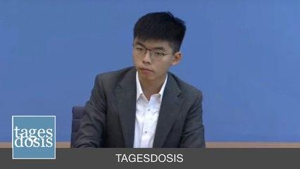 Tagesdosis 12.9.2019 - Joshua Wong, die neue Joker Maske aus dem US-NATO Strategiehauptquartier