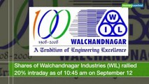 Walchandnagar Industries climbs 20% on ISRO order