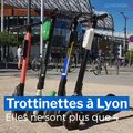 Trottinettes à Lyon : elles ne sont plus que quatre