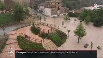 Espagne : des pluies diluviennes dans la région de Valence
