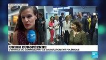 UE : L'intitulé du commissariat à l'immigration fait polémique