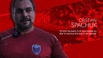 """Cristian Spachuk : """"Ce n'est pas parce que tu es plus grande ou que tu vas plus vite que tu vas réussir"""""""