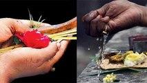 पितृ पक्ष पूजा की ये है आसान विधि |  methods of performing  Pitra paksha | Boldsky