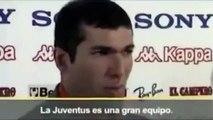 Quand Zinédine Zidane avouait être fan du FC Barcelone
