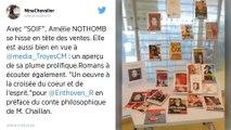 Rentrée littéraire. Amélie Nothomb confirme son statut de star avec son livre «Soif» en tête des ventes