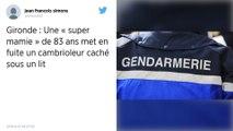 Gironde : Une «mamie courage» de 83 ans chasse un cambrioleur caché sous son lit