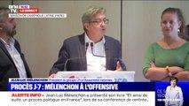 """Jean-Luc Mélenchon condamne un """"procès politique"""" à son encontre"""