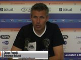 (J07) Laval - Red Star, avant-match avec O.Frapolli