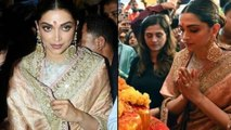 Deepika Padukone Visits Lalbaugcha Raja's Pandal in Mumbai