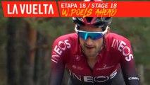 W.Poels devant / W.Poels ahead - Étape 18 / Stage 18   La Vuelta 19