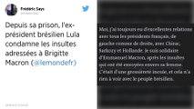 L'ancien président brésilien Lula dénonce «l'extrême grossièreté» de Bolsonaro envers Brigitte Macron