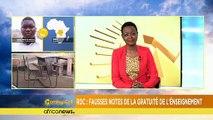 RDC : l'école primaire gratuite ou pas ? [Morning Call]