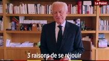 Philippe Labro - Trois raisons de se réjouir !