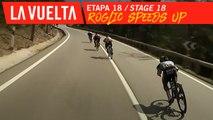 Roglic accélère / Roglic speeds up - Étape 18 / Stage 18 | La Vuelta 19