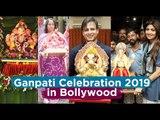 Bollywood Stars ने ऐसे किया Ganpati का स्वागत | Shilpa Shetty | Vivek Oberoi | Sunil Shetty | Salman