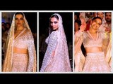 Deepika Padukone Ramp Walk: डिजाइनर Abu Jani-Sandeep Khosla के शो पर दुल्हन बनीं दीपिका ने किया डांस