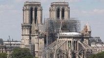 Notre-Dame de Paris : urgence sur l'échafaudage