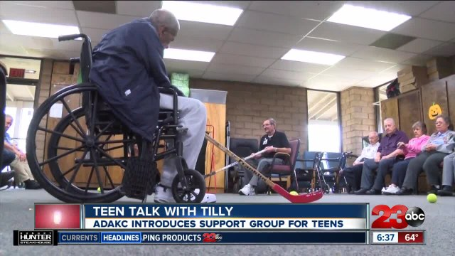 Teen Talk with Tilly provides support to teens with a loved one suffering from Alzheimer's