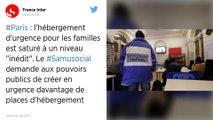 À Paris, l'hébergement d'urgence est saturé : au moins 400 familles sont à la rue