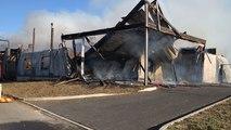 Cancale. Incendie d'un chantier naval: les dégâts