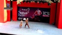 Gabriela Fernandez y Farith Lamir, Pareja Cabaret, XIV Festival Mundial de Salsa Cali 2019