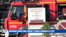 A la Une : Une femme poignardée à Sury-le-Contal / Un feu dans une casse à Saint-Romain-le-Puy / L'affaire Harvey Weinstein s'invite au Méliés / Une récolte de miel catastrophique dans la Loire