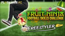 Freestyler | Attempting football's hardest skills... with fruit!