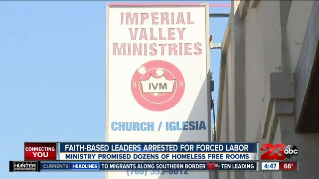Faith-based leaders arrested for forced labor