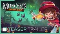 MUNCHKIN Quacked Quest Official Teaser Trailer (2019)