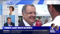 """Yannick Jadot (EELV): """"Le quatrième personnage de l'État ne peut pas être dans cette situation"""""""