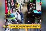 Callao: captan asalto a comerciante en 'Mercado Rojo'