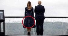 11 Eylül saldırısının yıl dönümde Melania Trump'ın giyidiği kıyafet gündem oldu