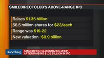 SmileDirectClub Falls From IPO Price in Trading Debut