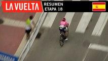 Resumen - Etapa 18 | La Vuelta 19