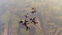Skydivers Nearly Collided With US Fighter Jets