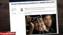 Media Asing Soroti Wafatnya BJ Habibie