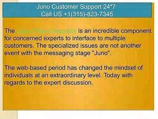 Juno  Customer Service Number USA