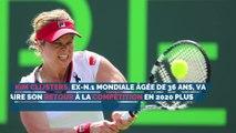 Le retour de Kim Clijsters à la compétition