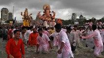 La fête de Ganesh touche à sa fin en Inde