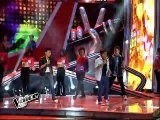 "The Voice Kids Semi Finals """"One Way Or Another"""" by Darren, Tonton and Juan Karlos"