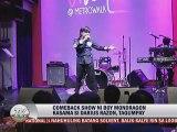 Comeback Show ni Boy Mondragon Kasama si Darius Razon, Tagumpay