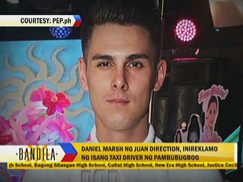 Daniel Marsh ng Juan Direction, inereklamo ng isang taxi driver ng pambubulabog