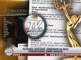 TV Patrol Weekend, nominado sa 2014 International Emmy Awards