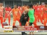 Cebu inmates nag-Thriller Dance live sa UKG