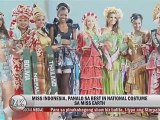 Miss Indonesia, panalo sa Best in National Costume sa Miss Earth