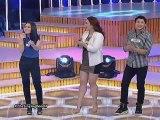 Biritan at kulitan sa The Singing Bee with Aina, Denise and Manuel!
