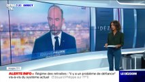 Retraites : Édouard Philippe explique la méthode - 12/09